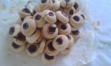 biscottini alla ciliegia